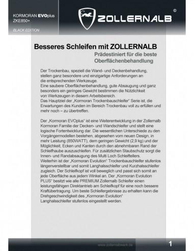 Zollernalb Wombat ZW2600 Mauernutfräse Schlitzfräse Fräser 35mm