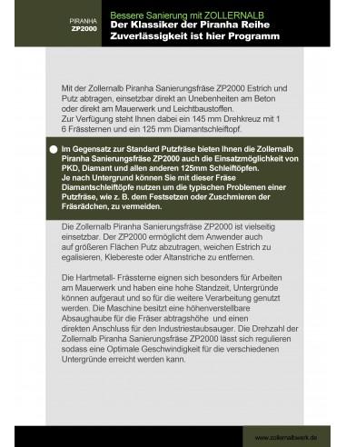 ZOLLERNALB Kormoran PRO Langhalsschleifer Trockenbauschleifer
